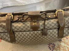 Gucci Vintage Suitcase RARE from 1980s SUPERB CONDITION