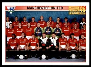 Merlin Premier League 96 - Team Photo Manchester United No. 31 *BECKHAM ROOKIE*