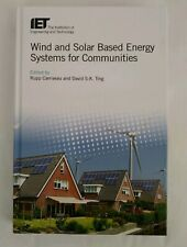 Wind and Solar Based Energy Systems for Communities Carriveau Ting Hardcover