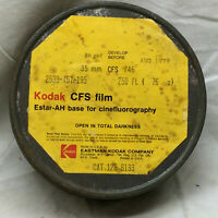 Vintage 1979 Tin Can ONLY Kodak CFS Film Container Metal