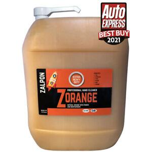ROZALEX Zalpon ZOrange - Extra heavy-duty hand cleaner with pumice 10 ltr bottle