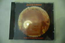 """JACKIE LOMAX(BEATLES)""""IS THIS WHAT TOU WANT- CD APPLE UK 1991"""""""