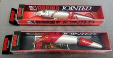 Set of 2 RARE Rapala Jointed 13 cm. lures.