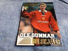 Merlin Premier League 2001-Ole Gunnar Solskjaer Manchester United #286