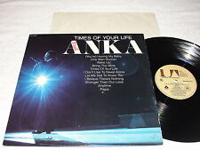 "Paul Anka ""Times of Your Life"" 1975 Pop LP, VG+, Original United Artists Press"