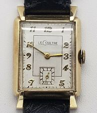 Men's Lecoultre 17 Jewel Wrist Watch 438/4CW Wristwatch
