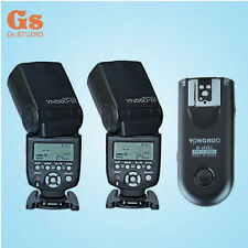 Yongnuo RF-603II Remote Trigger + 2pcs YN560 III Flash Speedlite Kit for Nikon