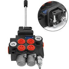 New Listing2 Spool 11 Gpm Hydraulic Directional Control Valve Tractor Loader With Joystick