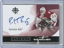 2013-14 Ultimate Collection PATRICK ROY Ultimate Signature Autograph 12-13