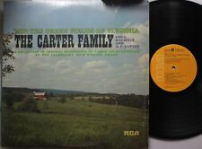 Country Lp The Carter Family 'Mid The Green Fields Of Virginia On Rca
