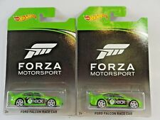 Lot Of 2 Mattel 2017 Hot Wheels Forza Motorsport XBOX Ford Falcon Race Car