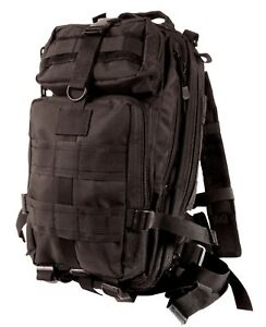 medium transport pack backpack tactical military style black rothco 2287
