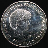 1999 | Elizabeth II 'Diana, Princess of Wales' £5 Coin | Cupro-Nickel | KM Coins