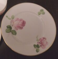 rare Thomas porcelain side plate Bavaria 1908-24 pink roses replacement