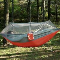 Outdoor Camping Moskitonetz Hängemattenzelt Nylon Doppel Schaukelstuhl