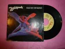 "WHITESNAKE Aqui Voy De Nuevo 1982 SINGLE Spain Press 7""(VG+/VG++) S"
