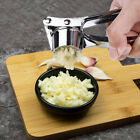 Garlic Press Crusher Mincer Chopper Peeler Squeeze Cutter Stainless Steel Ginger photo