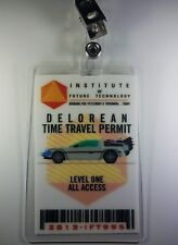 Back To The Future ID Badge-Institute of future Tech.Time Travel Permit cosplay