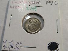 I145 Denmark 1920 10 Øre
