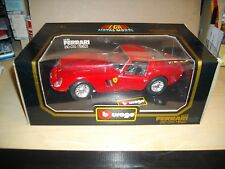 Boxed 1:18th Scale Diecast Car Burago FERRARI GTO 1962