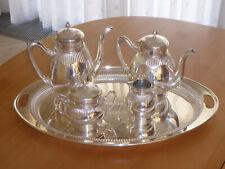 WMF- G -  Queen Anne Stil - Kaffee-/Teekern auf Tablett - versilbert - unbenutzt