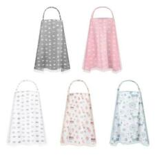 Breastfeeding Nursing Cover Adjustable Breathable 2-Layer Privacy Feeding Apron