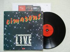 """LP 33T CIMARONS """"Live"""" POLYDOR 2383 489 FRANCE §"""