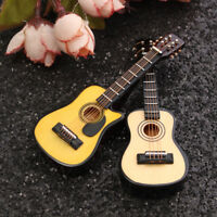 [NEW] 1/12 Scale Dollhouse Miniature Guitar Accessories Instrument DIY Part For