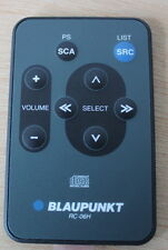 Blaupunkt mando a distancia rc-06h Compact Disc Digital Audio nuevo 8 638 812 065 FB