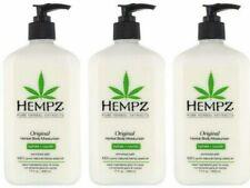 Hempz Original Herbal Body Moisturizer 7oz (Pack of 3) **BRAND NEW & AUTHENTIC**