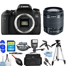 Canon EOS 760D/T6s With EF-S 18-55mm f/3.5-5.6 IS STM Lens!! MEGA BUNDLE NEW!!