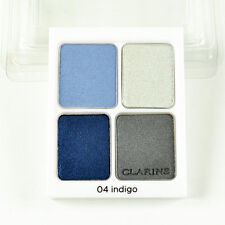 Clarins Eye Quartet Mineral Palette Eyeshadow 04 Indigo - 0.2 Oz / 5.8 g Tester