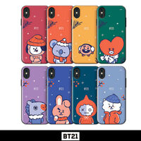 BTS BT21 Official Authentic Goods Open Card Winter Series By GCASE + Tracking #