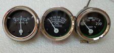 Gauge Set Temp, Oil Pr ,Ampere- Ford 2N, 8N, 9N, NAA, 600, 700,800,900,2000,4000