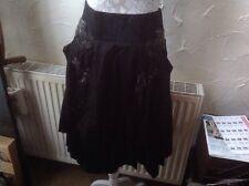 *TU 10(38) Black Embellished Skirt -new🏷-Party🎉
