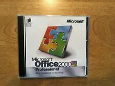 Microsoft Office 2000 Professional Edition (License + Media)) (1 Computer)