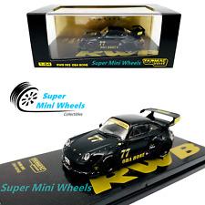 Tarmac Works - Porsche RWB 993 OBA BONE #77 (Black/Gold) Japan - 1:64