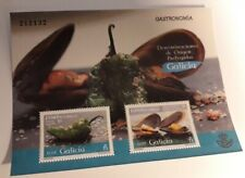 Spain. Stamps, 2015 - Gastronmy (Galicia) - YV F 4709 - SOUVENIR SHEET - MNH