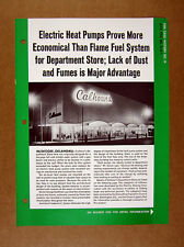 1965 Calhoun's Department Store Muskogee Ok photo Electric Heating print Ad