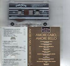 AMORE CARO BELLO musicassetta originale MC7 LUCIO BATTISTI CLAUDIO BAGLIONI POOH