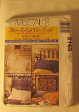 New Vtg McCall's Donna Babylon More Splash than Cash 2165 Fabric Headboards