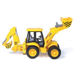 Bruder 1:16 40cm JCB 4CX Backhoe Loader Construction Vehicle Kids Toys 3y+ YEL