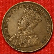 1914 CANADA LARGE CENT PENNY GREAT COLLECTOR COIN GIFT CALC10