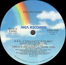 BELL BIV DEVOE - B.B.D. (I Thought It Was Me)? - mca