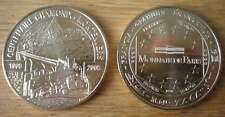Monnaie de Paris Medal 100 Years Chamonix Montenvers 2009 Train