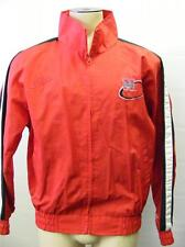 mens LOGO  NEBRASKA HUSKERS DR PEPPER zip up jacket coat NYLON MEDIUM red CLEAN