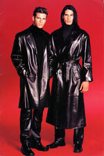 North Beach Leather Lambskin Danmant Trench Coat sz 52 $3500 One of a Kind