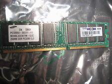 DDR1 RAM 256MB Samsung DDR1 RAM PC3200U 400MHz CL3 M368L3223ETM-CCC
