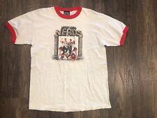 REVENGE OF THE NERDS Movie OGRE Mens T-shirt Sz: L Junk Food USA Made Contage