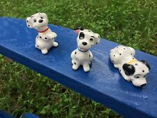Disney Dalmatian Porcelain Figures (3)